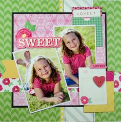 Sweet Girl *American Crafts* - Scrapbook.com