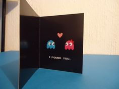 Items Similar To Pacman Love Valentines Day Printable Card On Etsy