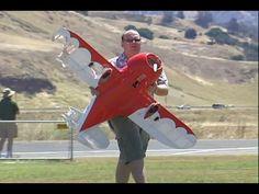 RC air show mid air collision airplane crash ....