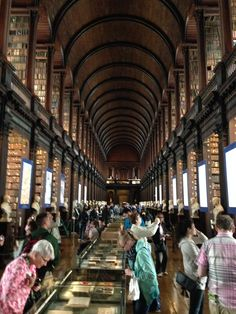 Trinity College The Long Room
