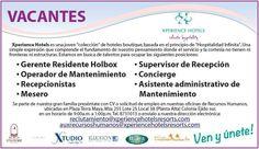"""Xperience Hotels en la Riviera Maya, está en busca de un talento para ocupar la posición de """"Gerente Residente para la isla de Holbox"""", para trabajar en el paraíso!!! Te dejo sus datos de contacto!"""