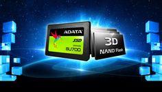 ADATA anunta lansarea SSD-ului Ultimate SU700, 2.5 SATA 6Gb/s. Noul SU700 utilizeaza un controller Maxiotek, ofera 3D NAND si viteze de pana la 560MB/s la citire si 520MB/s la scriere, cu o capacitate de pana la 960GB.