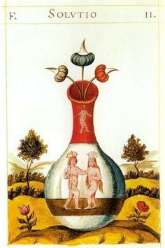 An illustration of alchemy from 17th century Europe. Many who try to become spiritually awakened are unaware that sex is essential for enlightenment. What I describe as enlightenment is a process in which consciousness returns to its origin, which is a long process