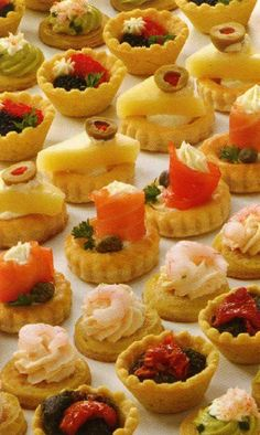 Appetizers on pinterest canapes smoked salmon and for Canape fillings