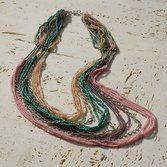 Splashy+Multi-strand+Necklace