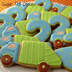 Sugar Dot Cookies: P