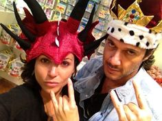 Lana Parrilla and Fred di Blasio EvilQueen