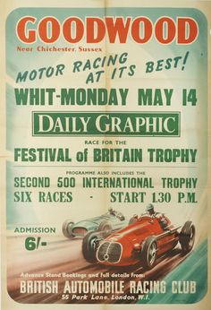 BARC Festival of Britain Trophy, Goodwood 1951