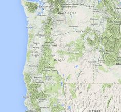 Oregon Plant Hardiness Map For Banonites it looks like 9b For