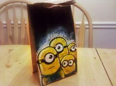Dad that illustrates the lunch bags for his kids... how awesome is that?