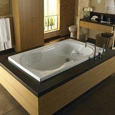 Raised indoor Modern Jacuzzi Bath Tub Designs
