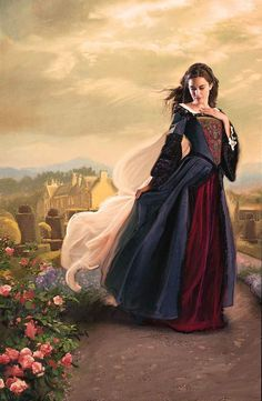 Lott Reps - the paperback cover for The Queen's Governess by Karen Harper