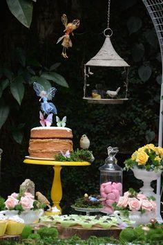 Jardim Encantado das Fadas realizado por Silvia Roveri Eventos