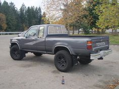For sale or trade: 1993 Toyota pickup extended cab**SOLD** - Honda Forum : Motorcycle Forums Toyota Pickup 4x4, Toyota Tacoma 4x4, Toyota Trucks, Toyota Hilux, Pick Up 4x4, Honda, Monster Trucks, Projects, Cars