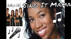 Sing It Mama: With Me (Destiny's Child) w/ Lyrics 🎤 #DestinysChild #WithMe #SingItMama #Singer #music #candylove #youtube #youtuber #candylovechannel #song #musicvideo