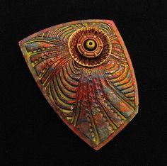 Helen Breil via Flickr; I love the raku finish. Helen's work is always an inspiration!