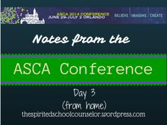 #ASCA14 Day 3 Resources