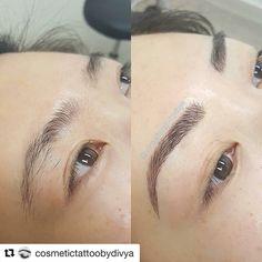 Different eyebrow tattoo shapes Elegant permanent tattoo eyebrow makeup – permanent makeup Hair Stroke Eyebrows, Mircoblading Eyebrows, Natural Eyebrows, Tattoo Eyebrows, Eyelashes, Permanent Eyebrow Tattoo, Permanent Makeup Eyebrows, Semi Permanent Makeup, Eyebrow Makeup