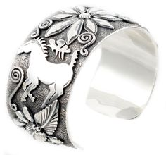 Traditional Sterling Silver Cuff Bracelet