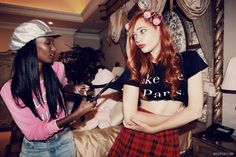 FATIMA SIAD-  FOR- The Kid's In America, SS 13 Wildfox - inspired by the film Clueless (1995)