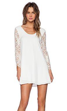 Lovers + Friends Freesia Dress in Ivory