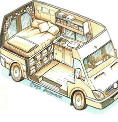 Connect with the van life community on our forum. Ask questions, engage, interact discuss, and unite with fellow nomadic!You Must Know About Minivan Camper Conversion - Vanlife & Caravan RenovationND - I like this style for a van sketch - PhotopinJust bec Minivan Camper Conversion, Camper Van Conversion Diy, Sprinter Van Conversion, Van Conversion Layout, Van Conversions Ideas, Van Conversion How To, Van Conversion With Bathroom, Van Conversion Floor Plans, Campervan Conversions Layout