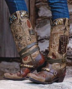 Boots/Sandals :: Boots :: LANE~DD RANCH TRAPPER BOOTS! - Cowgirl Fashion|Ladies Western Wear|Cowgirl Fashion|Double D Ranch|Unique High End Western Fashions|Turquoise Jewelry|Southwestern Jewelry