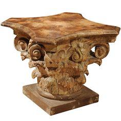 Carved Corinthian Capital