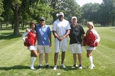 Our Golf Tournament is full of celebrities and fun. It helps support our reading programs every year.