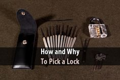 In this video, Tin Hat Ranch explains how basic locks work and how to get them open. When someone's life is on the line, it's the right thing to do.