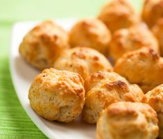 Gougères with Bacon–Tarragon Pastry Cream | This version of the classic French cheese puff is filled with a rich, bacon-flavored cream.