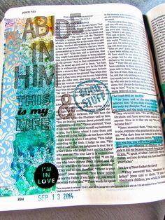 Bible Journaling : John 8:31-32,36 | Bonita Rose