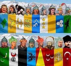 Deme bana Oğuz, Kayı, Osmanlı. Türk'üm bu ad her unvandan üstündür. Yoktur Özbek, Nogay, Kırgız, Kazanlı. Türk Milleti bölünmez bir bütündür... Ziya Gökalp
