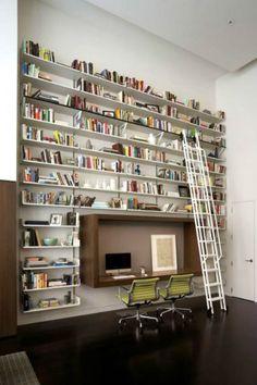 Ideas para hogares con muchos libros
