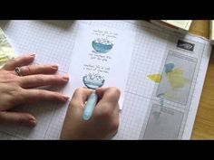 ▶ My Stampin Studio How to use our Aqua Painters to give your stamped images a realistic look - YouTube
