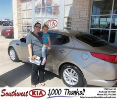 #HappyBirthday to Candace Baker from Kathy Parks at Southwest KIA Rockwall!