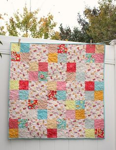 Wistful Winds Baby Quilt