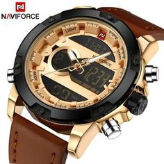 NAVIFORCE Quartz Waterproof Watches Men