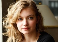 Imogen Poots - lovely hair and makeup