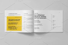 Brand Manual 32 Pages A4 / US Letter - Brochures Brand Manual, Brand Guide, Adobe Indesign, Proposal, Templates, Lettering, Marketing, Personalized Items, Brochures