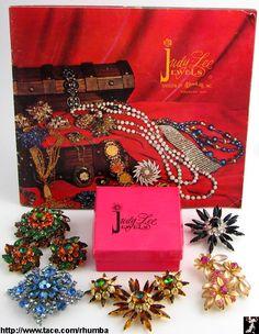 Judy Lee Vintage Costume Jewelry by Rhumba!