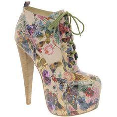 Aldo Aldo Rise X Preen Rosann Print Platform Heeled Ankle Boots - LoLoBu