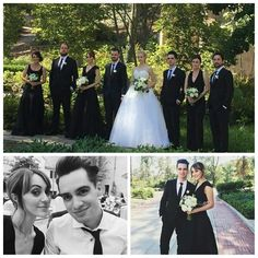Brendon and Sarah at Spencer's wedding