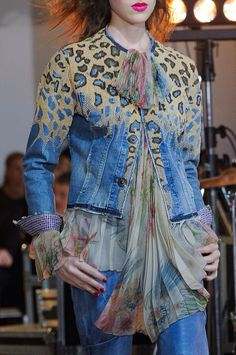 +++ Wunderkind + Spring / Summer 2014 + PFW + RTW +++‏ #sporty #fringes #OldWest #Western #reptile  #print #motif #leopard #flowers #florals #colorful   #frock #biker   #leather #varsity #sportswear #sheer #chiffon #tulle #net #mesh  #pleated #embroidery #flags #Wunderkind #ParisFashionWeek  #SS14 #WomensFashion #PFW #Summer2014 @ISAZAfashion