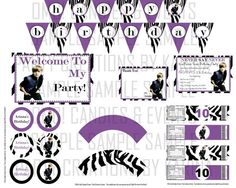 Justin Bieber Party Ideas