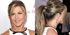 Who: Jennifer Aniston What:A Playful Ponytail How-To:Ponytails have a reputation for being a quick and casualstyle, but Aniston'sperky, voluminous ponyis far from careless and itworks on the red carpet because it won't fall flat halfwaythrough the night. Start by usinga thickening mousse on damp hair and blow-drying the roots up with a round brush. Then secure the hair backinto a ponytail right in the center of the crown and wrap a ...