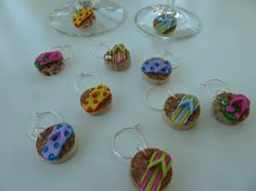 Flip Flops Wine Glass Charms by TheBeadedCork on Etsy, $12.00