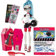 Monster High Doll, Ghoulia Yelps