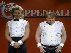 Patrick Swayze & Chris Farley : Chippendales ......Hilarious and one of my favorites !!!