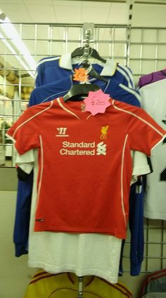 aef4e3f932f Liverpool hat scarf glove set · SPORTING GIFTSLiverpool · Liverpool  standard chartered shirt age 6 to 7 years